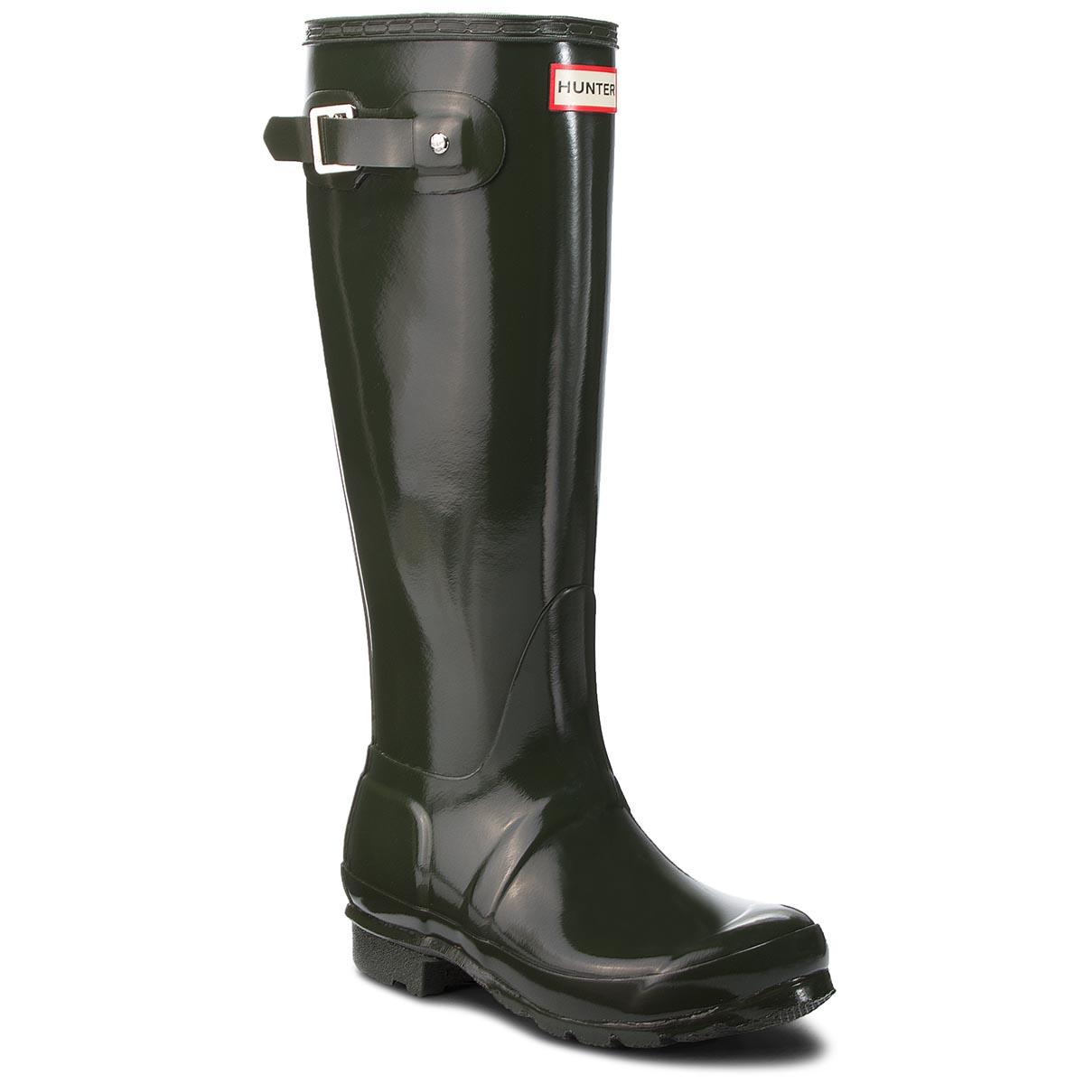 Botas de agua HUNTER Org Tall Gloss WFT1000RGL Dark Olive