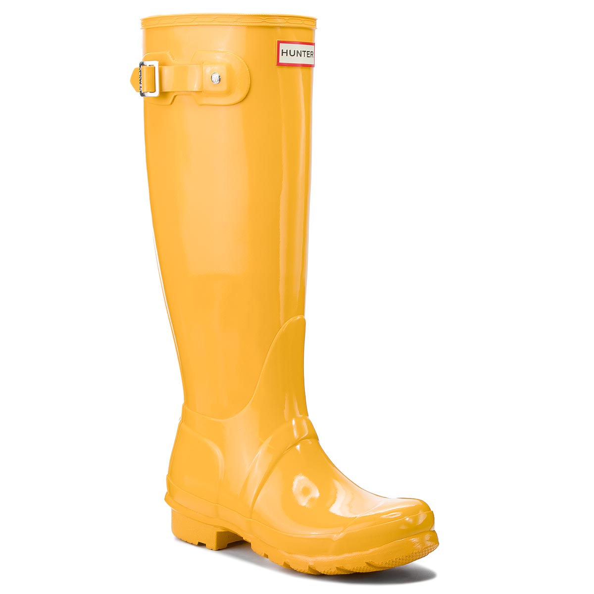 Botas de agua HUNTER Org Tall Gloss WFT1000RGL Yellow