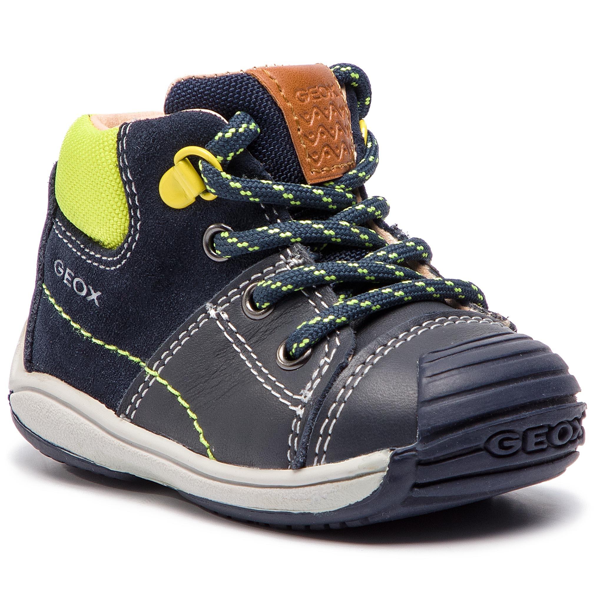 Zapatos geox b8446b azul para niño