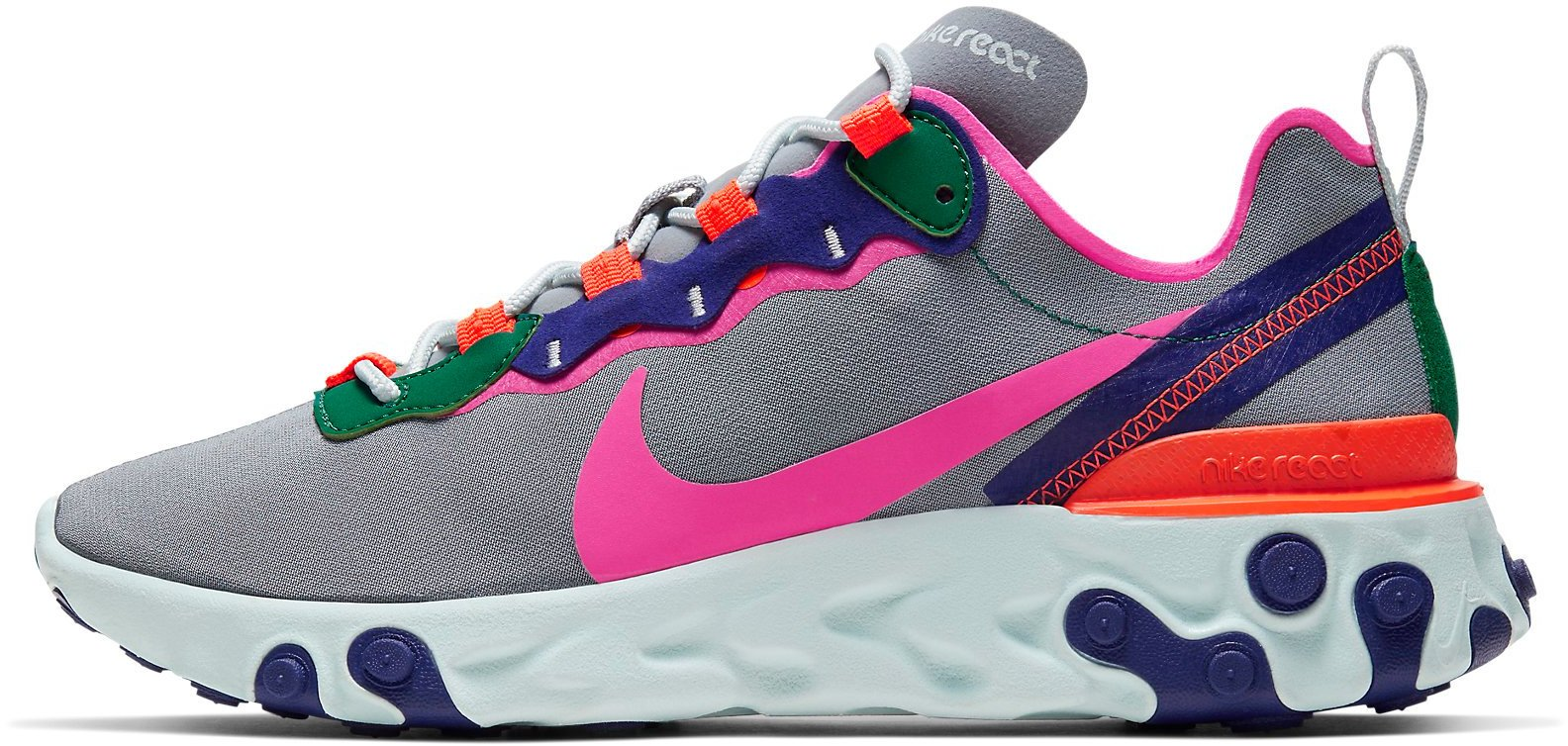 Zapatillas Nike W REACT ELEMENT 55 bq2728 006 Talla 38 EU | 4,5 UK | 7 US | 24 CM