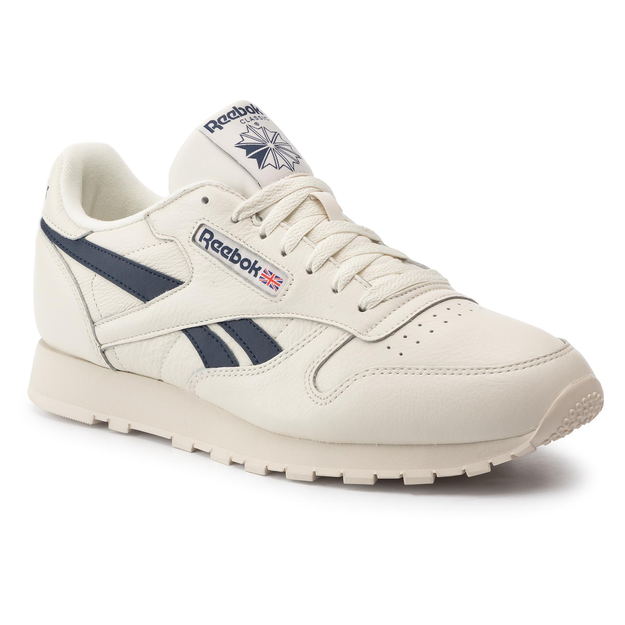 Zapatos Reebok Cl Leather Mu DV9695 ChalkPaperwhtColl Navy