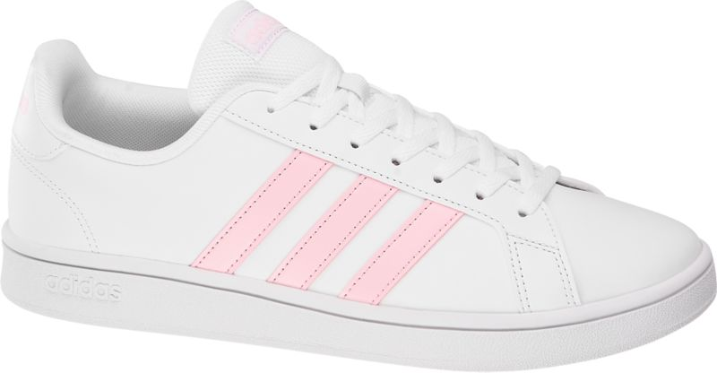 adidas grand court mujer rosa