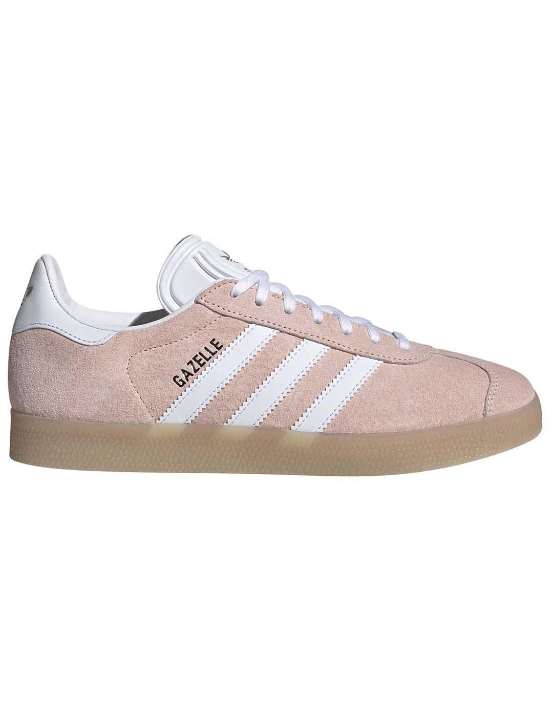 zapatillas adidas gazelle mujer rosa