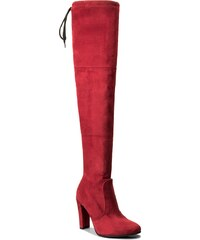 Botasde equitación LASOCKI - DESA-10 Guinda/burdeos - Botas hípicas - Botas y otros - Zapatos de mujer