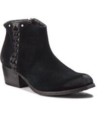Botas CLARKS - Maypearl Fawn 261363274 Black Suede - Botines - Botas y otros - Zapatos de mujer