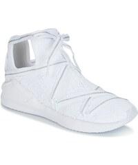 zapatillas altas puma blancas