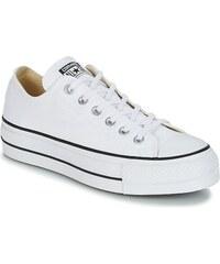 Zapatillas de deporte blancas con plataforma Ox Chuck Taylo All Star de Converse