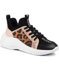 Sneakers GUESS - Bahaa FL7BA3 ELE12 LEOPARD - Sneakers - Zapatos - Zapatos de mujer