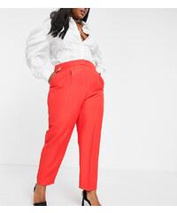 Pantalones De Vestir Para Mujer Rojos Glami Es