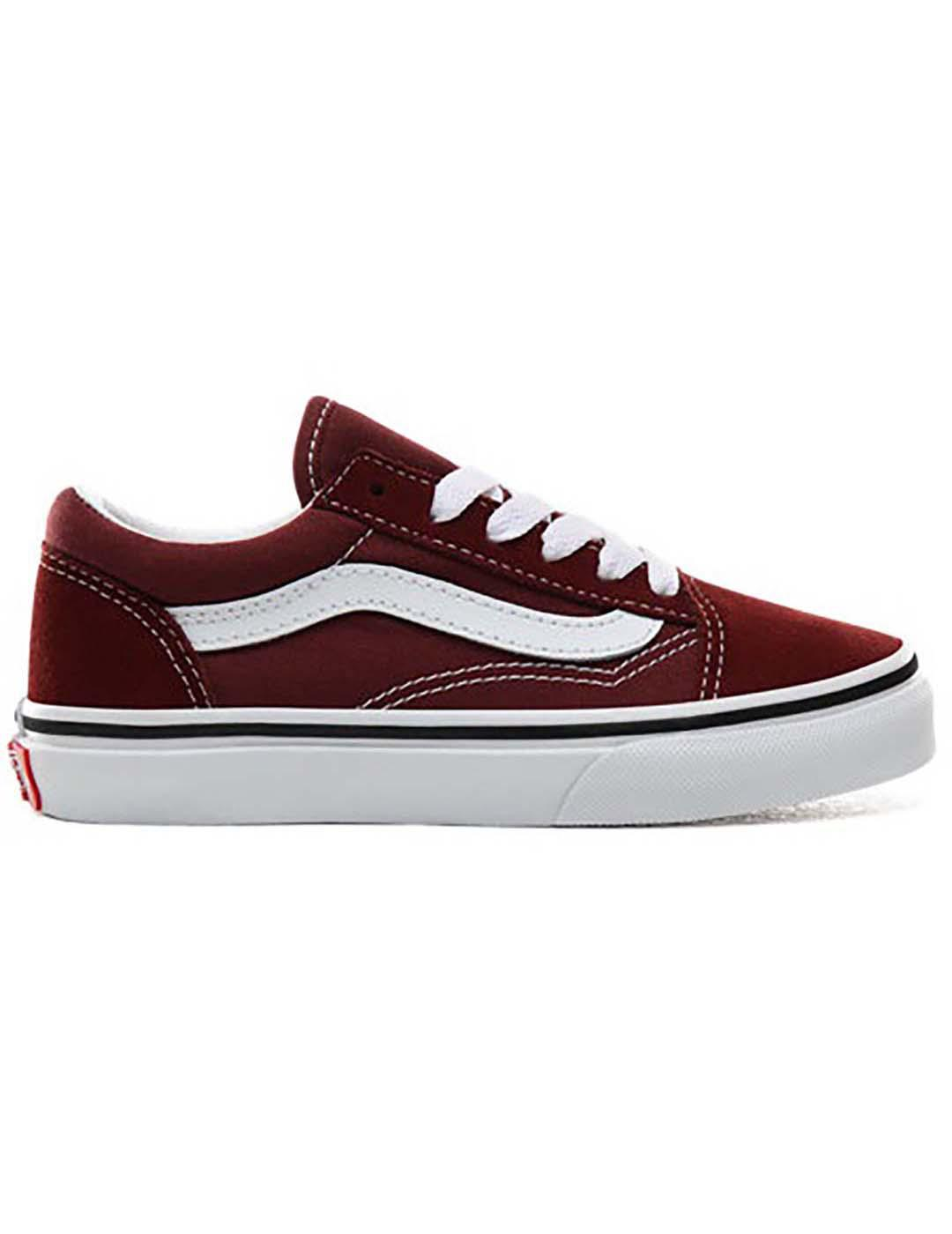 2vans authentic granate mujer