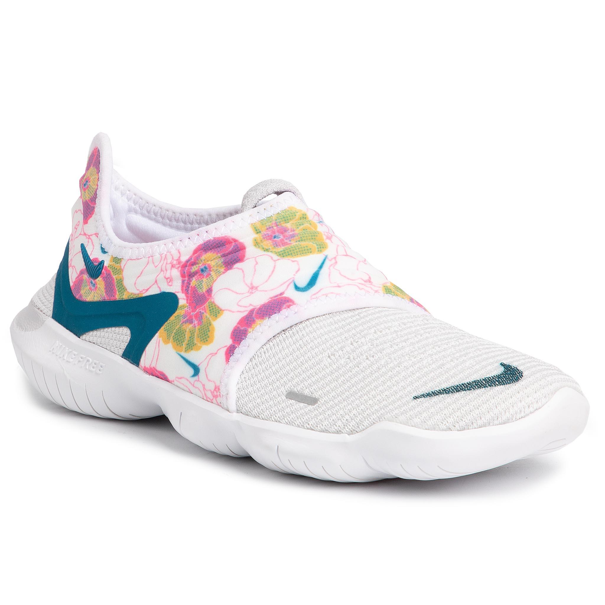 Zapatillas bajas   Free Rn Flyknit 2018 W Calzado Blanco   Nike Mujer