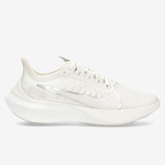 Nike Zoom Gravity 5 Blanco Zapatillas Running Mujer