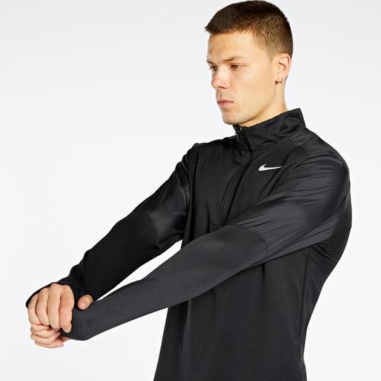 Deambular plan Fortalecer  Sudadera Térmica Nike Negra Running Hombre - GLAMI.es