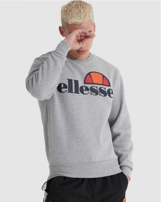 Ellesse Sl Succiso Sweatshirt Grey Marl Xs