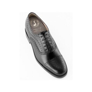 Zapatos con alzas hombre Gianni Garzanero modelo Basilea negro Negro