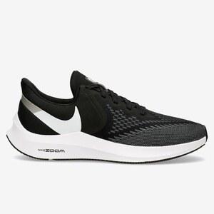 Nike Zoom Winflo 6 Negro Zapatillas Running Hombre