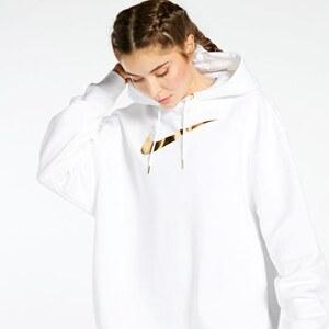 Distribución psicología Laboratorio  Nike Gold Swoosh Blanco Sudadera Mujer - GLAMI.es