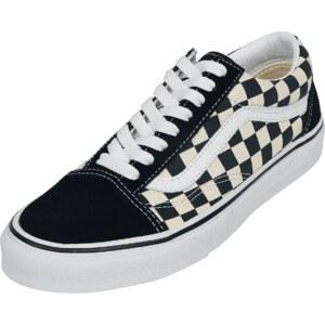 VANS Skool (cuadros Primary Old) NegroBlanco Zapatos Todas