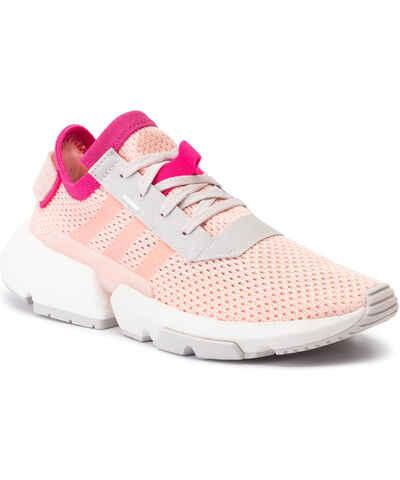 Zapatos adidas - Gazelle W B41663 Clelil/Clelil/Ftwwht - Sneakers - Zapatos - Zapatos de mujer