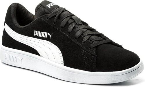 Bow Deportivas Para Textil Cuero Negro Wn's Puma Suede Mujer