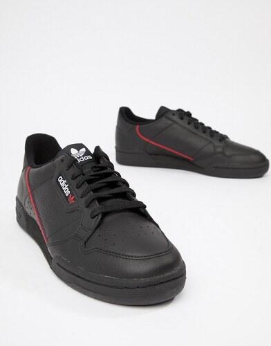 Zapatillas de deporte negras estilo años 80 B41672