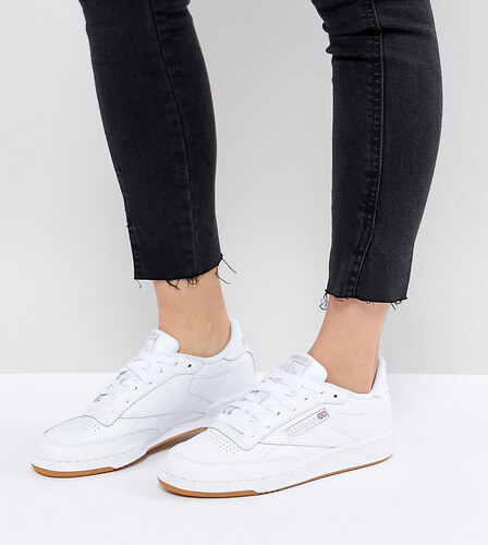 Nike   Zapatillas de deporte de cuero blancas clásicas