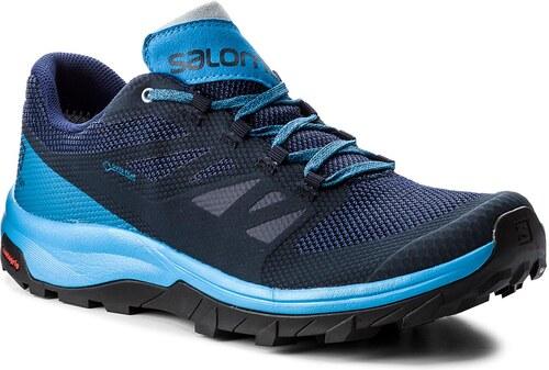 Zapatos SALOMON Xa Elevate Gtx GORE TEX 402398 PoseidonHawaiian SurfBlack