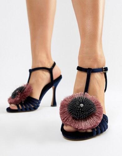 precio competitivo 1e4a8 f9e95 Sandalias de tacón con adornos Hoki de ASOS DESIGN - Glami.es