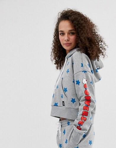 Converse Sudadera con capucha para mujer Suéter De Hello