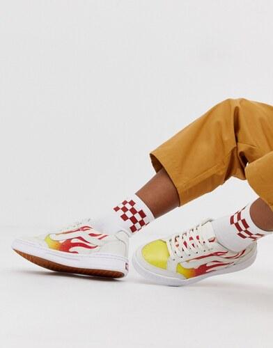vans llamas zapatillas