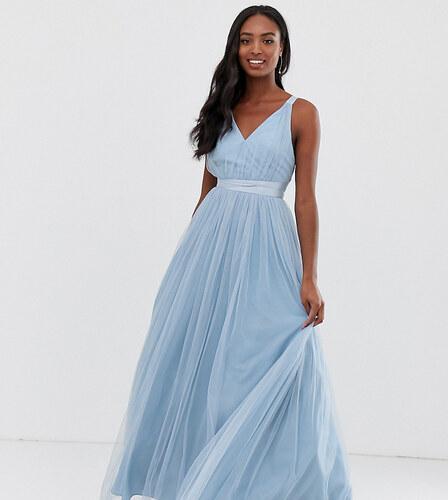 fábrica comprar más nuevo tienda de liquidación ASOS Tall Vestido de graduación largo en tul con lazos de ...