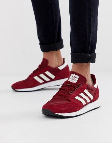 zapatillas adidas burdeos