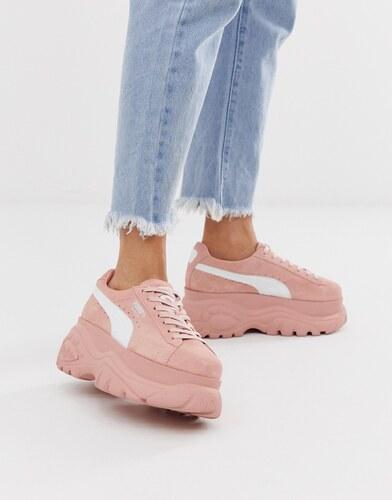 puma plataforma rosa
