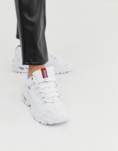 Zapatillas blancas Energy de Skechers GLAMI.es