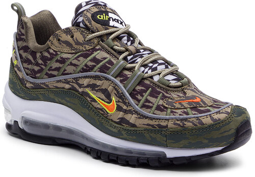Zapatos NIKE Air Max 98 Aop AQ4130 200 KhakiTeam Orange