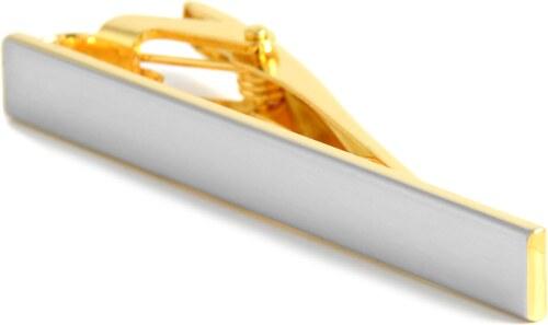Warren Asher Pasador de corbata plata y dorado GLAMI.es
