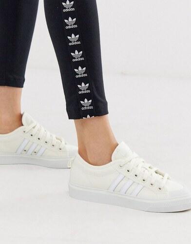 Zapatillas color hueso Nizza de adidas Originals Glami.es