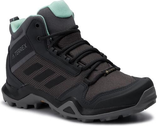 Zapatos adidas Terrex Ax3 Mid Gtx W GORE TEX BC0591 Grefiv