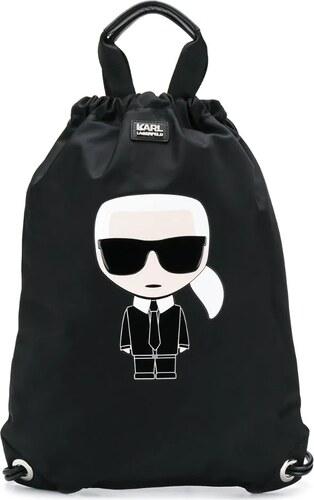 Karl Lagerfeld Mochila de Mujer Negra BPSTUDRKL   Mochilas