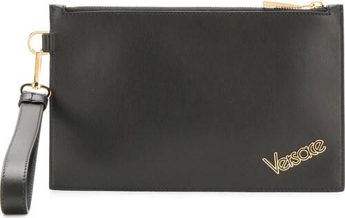 Versace bolso de mano con placa de logo Negro GLAMI.es