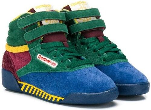 Reebok Kids zapatillas Freestyle Hi de Reebok Classic x TAO