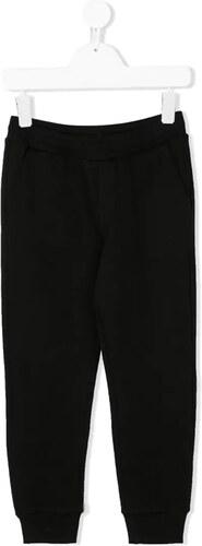 Moschino Kids Pantalones De Chándal Con Logo Kids Negro
