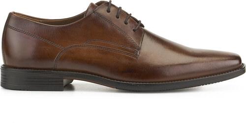 Zapato Blucher vestir piel FOSCO Talla 41 MarronCamel