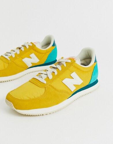 zapatillas hombre amarillas new balance
