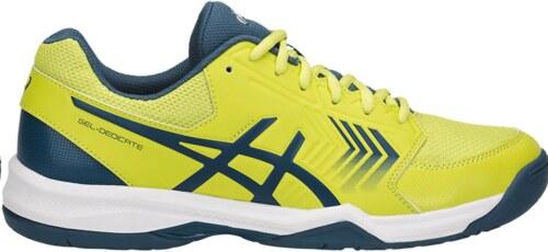 tenis asics amarillos