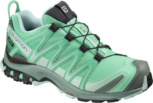 Blanco Salomon Trailster Gtx W Verde | Zapatillas Running