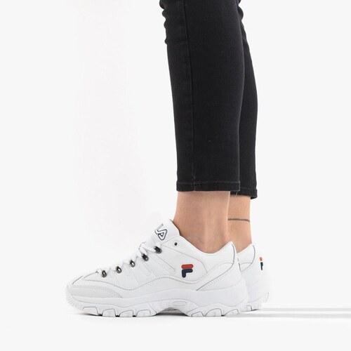 Zapatillas Fila Strada Hiker Low blanco mujer