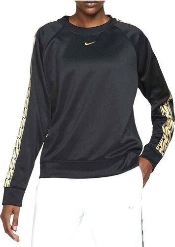 Retencion cebra terciopelo  Sudadera Nike Sportswear Negro/Dorado Mujer - XS - GLAMI.es