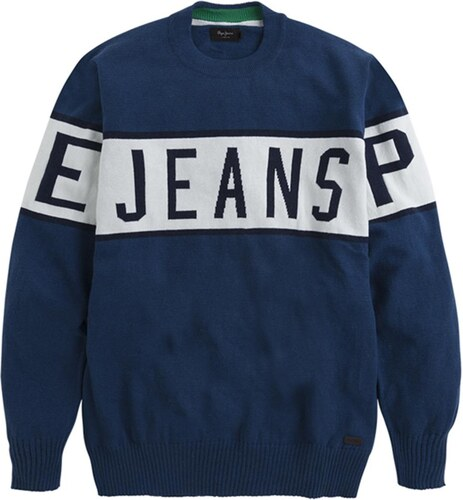 Jersey Pepe Jeans Downing azul hombre M GLAMI.es