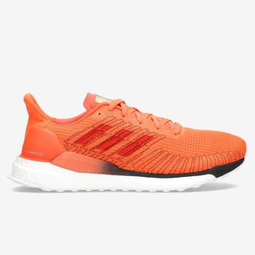 adidas boost hombre running naranja